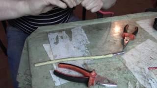 Подключение медного провода к стояку из алюминия(Показываю как можно это сделать., 2016-05-12T03:26:14.000Z)