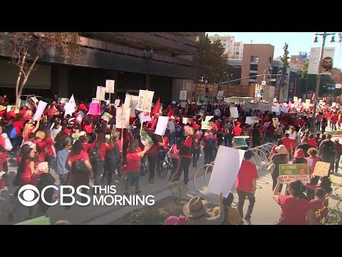Tracy Bethea - Los Angeles Teachers on Strike