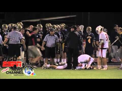 St. Thomas Aquinas lacrosse player sucker punches St. Andrew