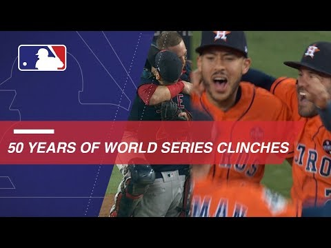 50 Years Of World Series Clinches
