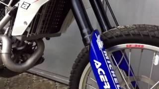 Краткий обзор состояния мотоцикла BMW G450X 2008
