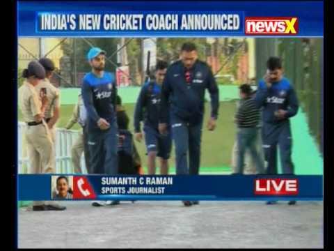 BCCI announces Ravi Shastri as head coach of Team India
