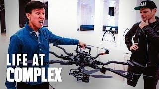 Racing Drones & Complex LA Office Tour! | #LIFEATCOMPLEX
