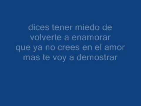 Dejame tan solo amar - Andrés de León FULL+lyrics on screen