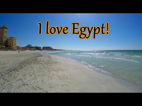 Discovering a beach in Alexandria, EGYPT