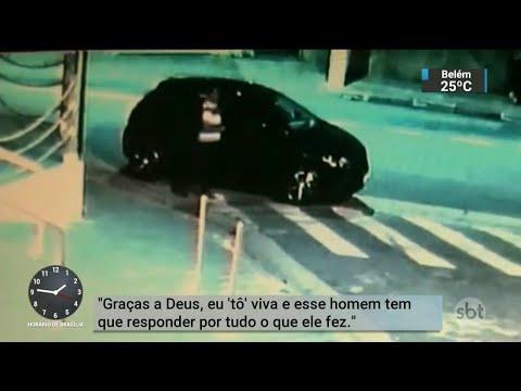 Falso motorista acusado de estuprar passageiras é preso na Grande SP | SBT Notícias (17/05/18)