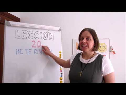 Hola amigos - 20. lekce španělštiny s misionářkou