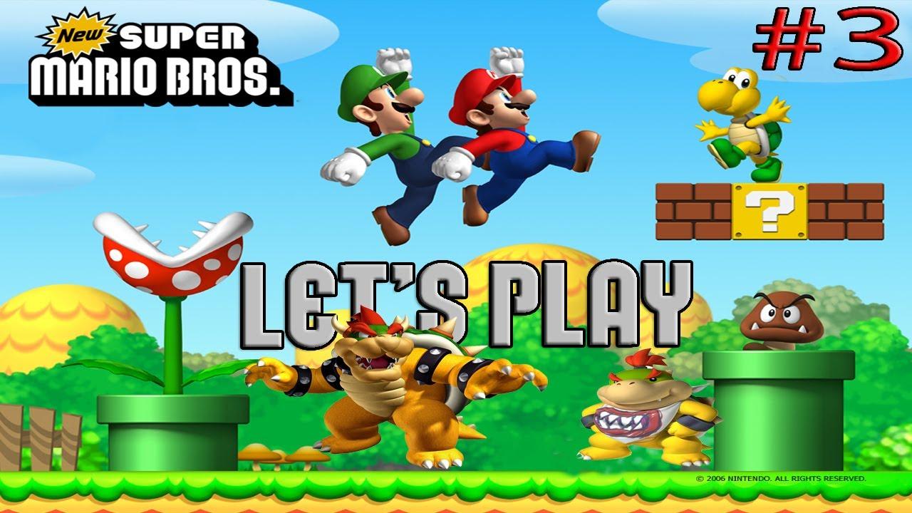 Let S Play New Super Mario Bros Ds Episodio 3 O Esqueleto De