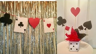 DIY casino theme party ideas