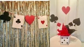 DIY casino theme party ideas