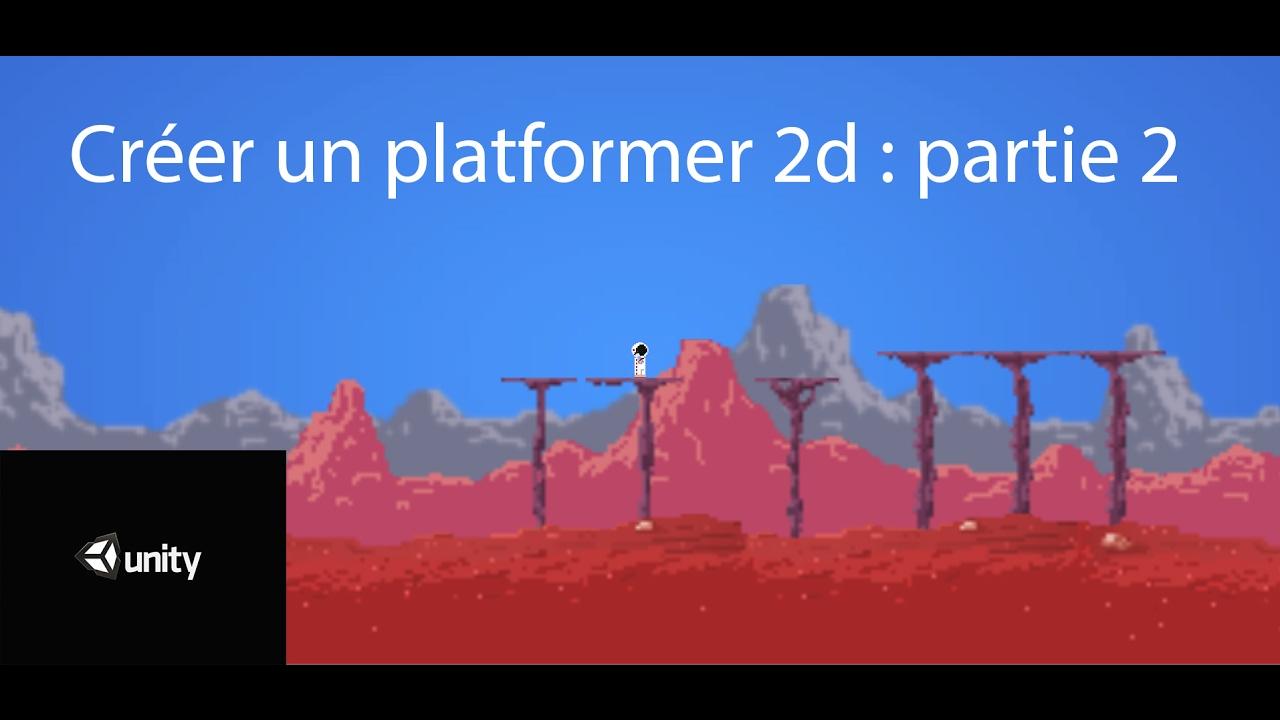 unity 2d platformer tutorial