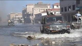 Fighting continues onto flooded streets of Sirte - no comment