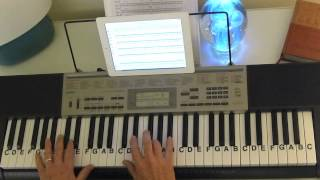 How to Play ~ Ave Maria ~ Franz Schubert ~ LetterNotePlayer ©