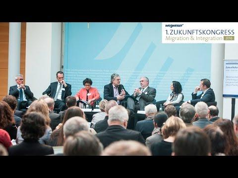 Weichenstellung erfolgreicher Integration – 1. Zukunftskongress Migration & Integration 2016