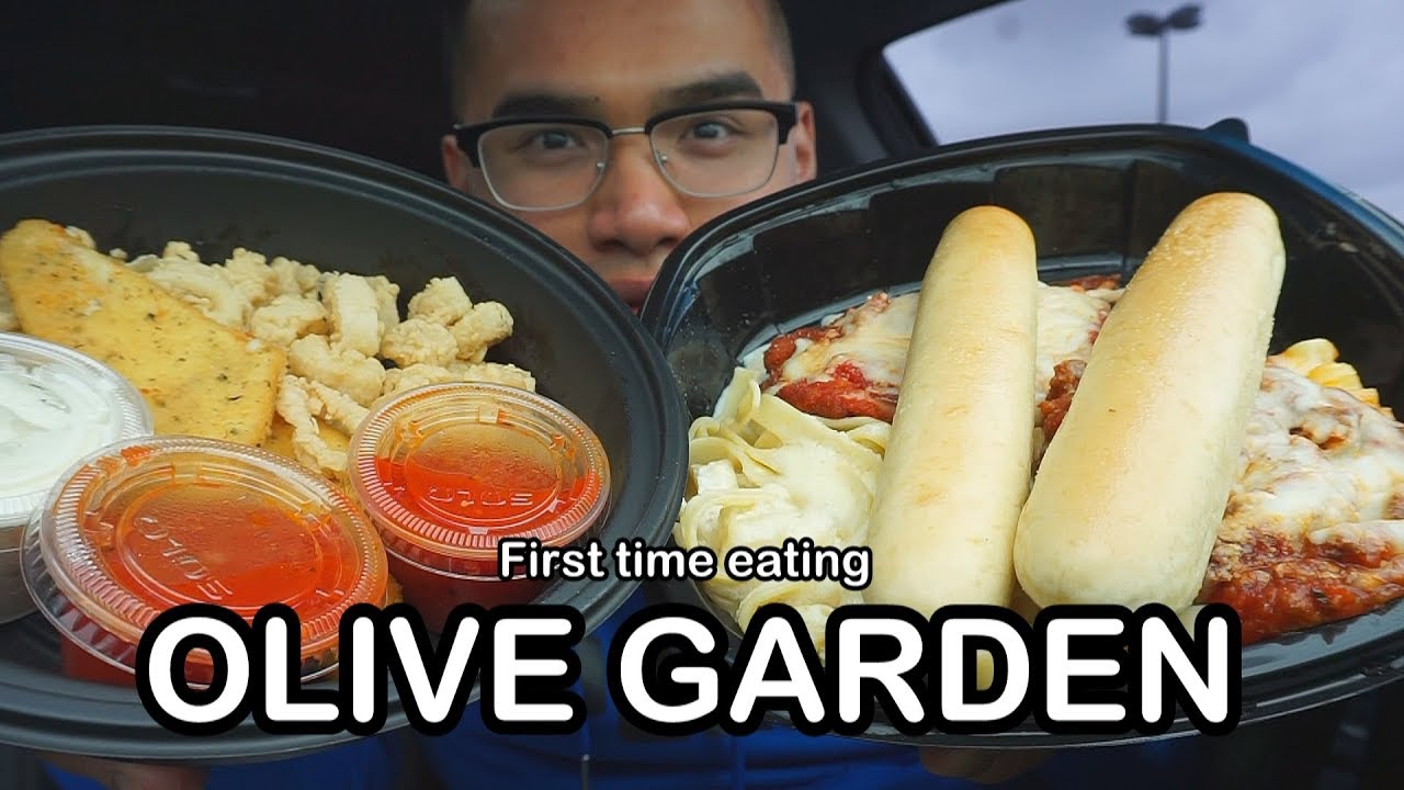First time eating olive garden youtube - What time does the olive garden close ...