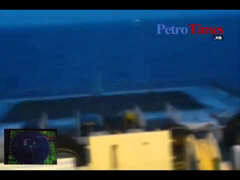 China Vessel try to destroy a cable of VIetnam Vessel (Viking II) in Spratly Islands