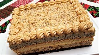 """Классический вкусный торт. """"Дамский каприз""""или Торт """"Генерал"""" Рецепт, секреты приготовления#лакомка"""