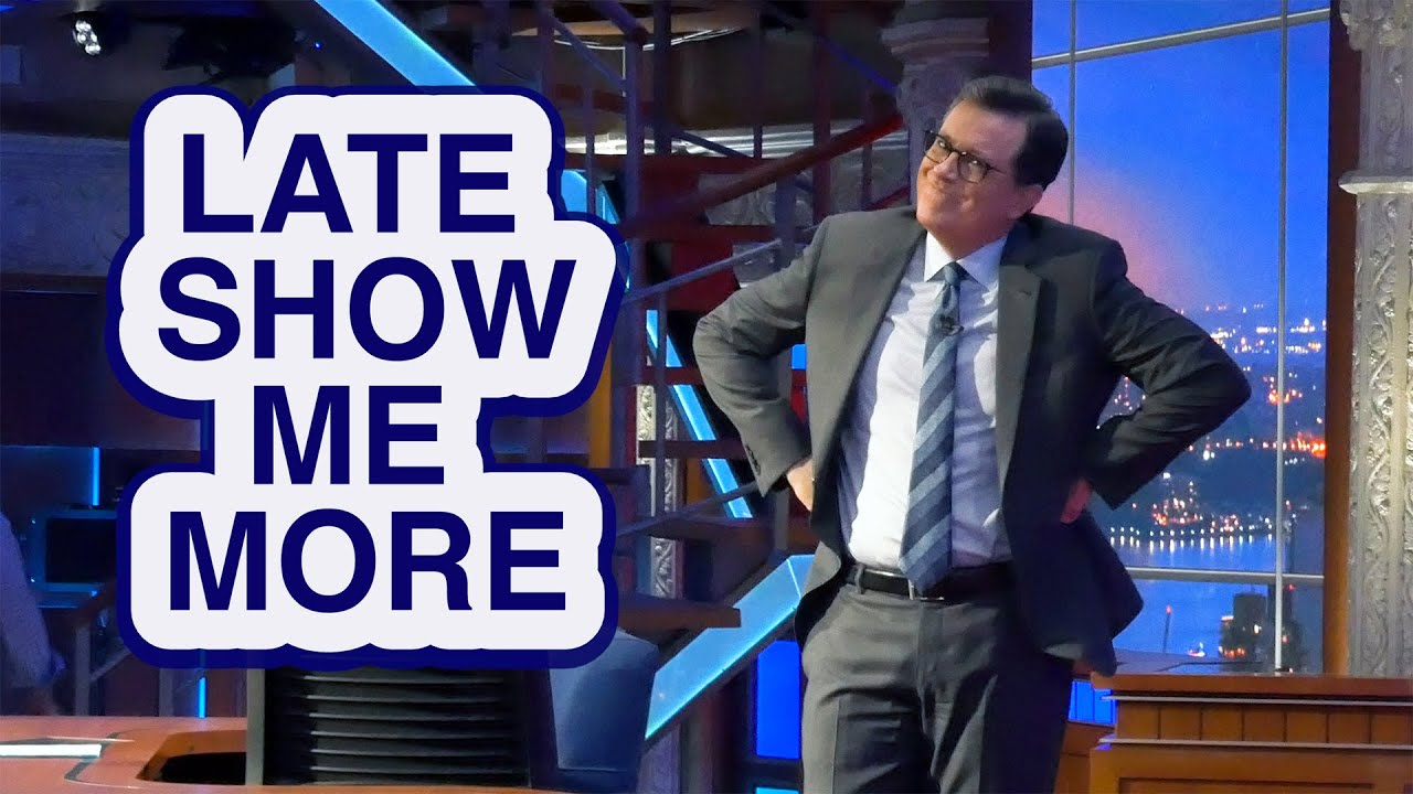 LATE SHOW ME MORE: Fine Just Being Me