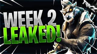 "ALL Week 2 Challenges LEAKED! | ""VISIT ALL THE CORRUPTED AREAS"" (Fortnite Battle Royale Season 6)"