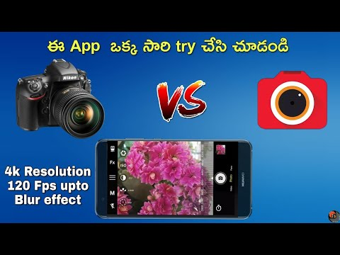 Best DSLR Camera App | How to Take Pictures in Android Phone with DSLR Effect? | Bacon Camera