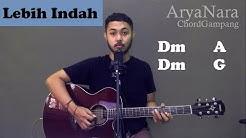 Chord Gampang (Lebih Indah - Adera) by Arya Nara (Tutorial Gitar) Untuk Pemula