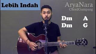 Download Mp3 Chord Gampang  Lebih Indah - Adera  By Arya Nara  Tutorial Gitar  Untuk Pemula