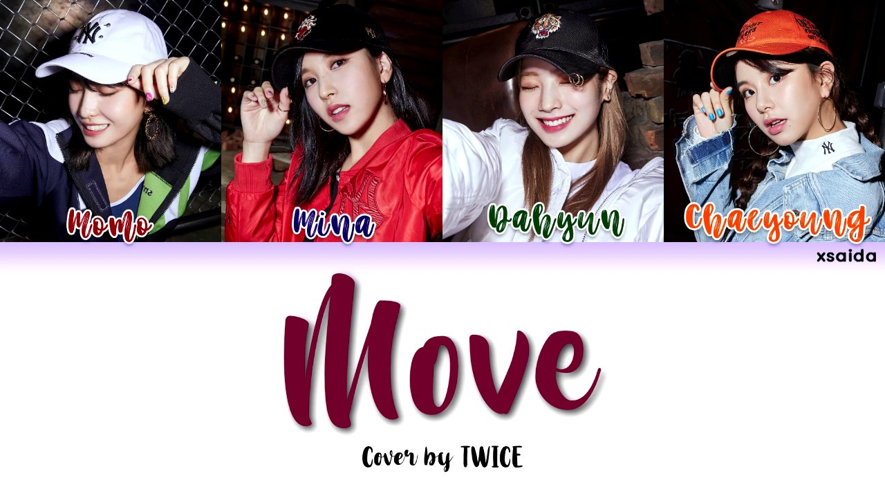 TWICE (트와이스) - Move [Color Coded Lyrics Han/Rom/Eng]
