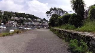 Looe Bay, Cornwall, England (ninebot one)