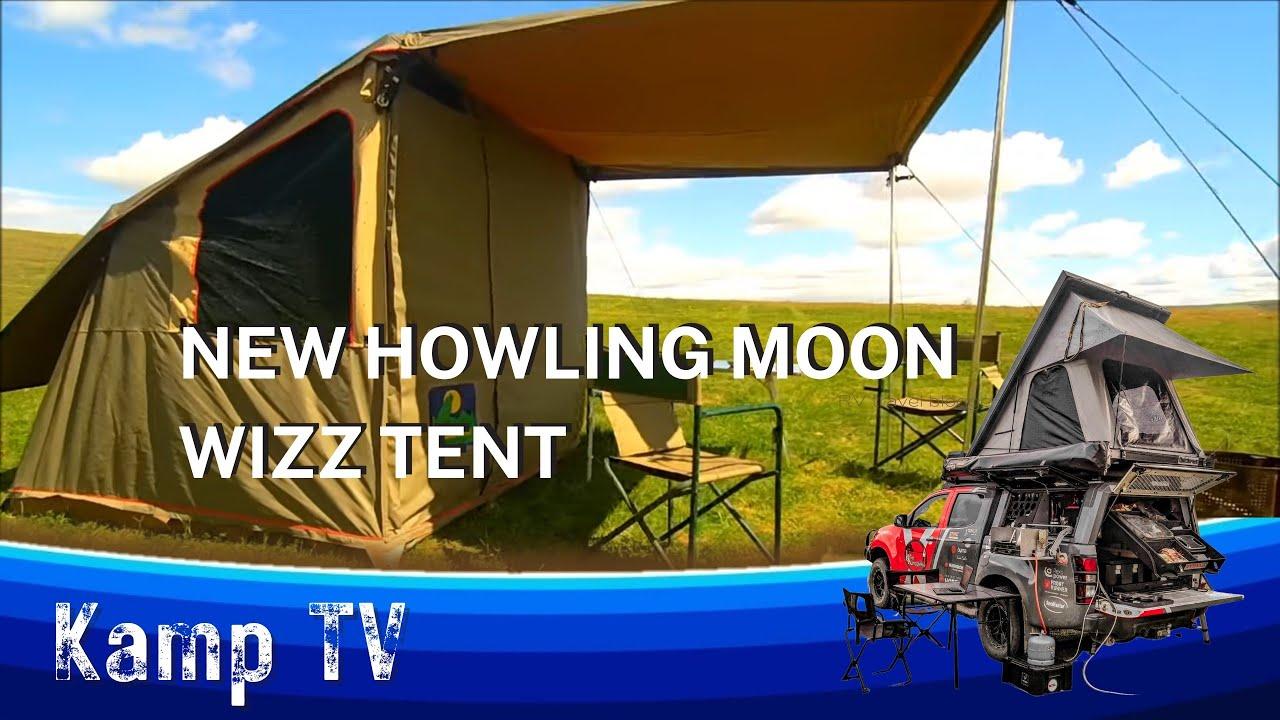 Kamp TV Toets Die Howling Moon Wizz 24 Tent