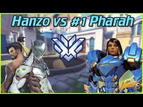"""Top 500 Hanzo vs #1 Pharah Valkia ft. PvP & Metro -- Overwatch Top 500 thumbnail"