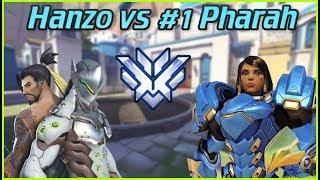 """Top 500 Hanzo vs #1 Pharah Valkia ft. PvP & Metro -- Overwatch Top 500"