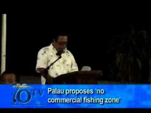 Palau President proposes 'no commercial fishing zone'