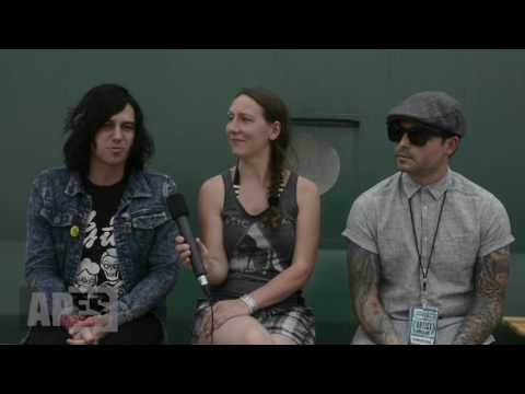 Interview with Sleeping with Sirens (exclusive album title announcement!) at Nova Rock Festival 2017