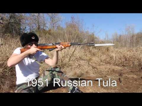 Russian SVT 40 and SKS Type 56 ( quá đã )