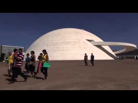 Brasilia's Dramatic Architecture Draws World Cup Tourists