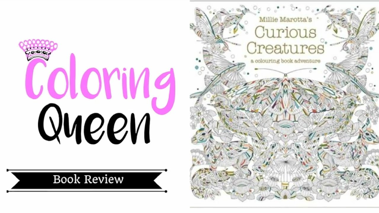 Curious Creatures Coloring Book Review