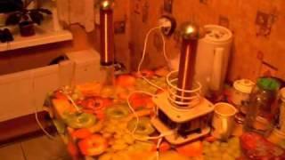 Беспроводная передача энергии(Беспроводная передача энергии на расстояние., 2011-09-25T13:20:19.000Z)