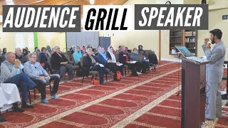 Christians Grilled Muslim Speaker with Tough Questions - His Response?