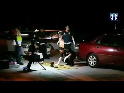 Dua ahli kongsi gelap ditembak mati
