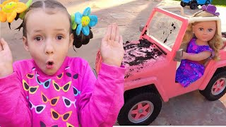 Wash my car song | Nursery Rhymes & Educational song