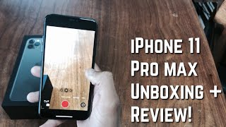 Cover images iPhone 11 Pro Max Unboxing, Review + First Impressions!! (In less than 5 mins)