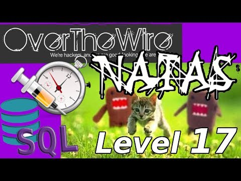 TIMING ATTACK SQL Injection: Python Web Hacking | Natas: OverTheWire (Level 17)