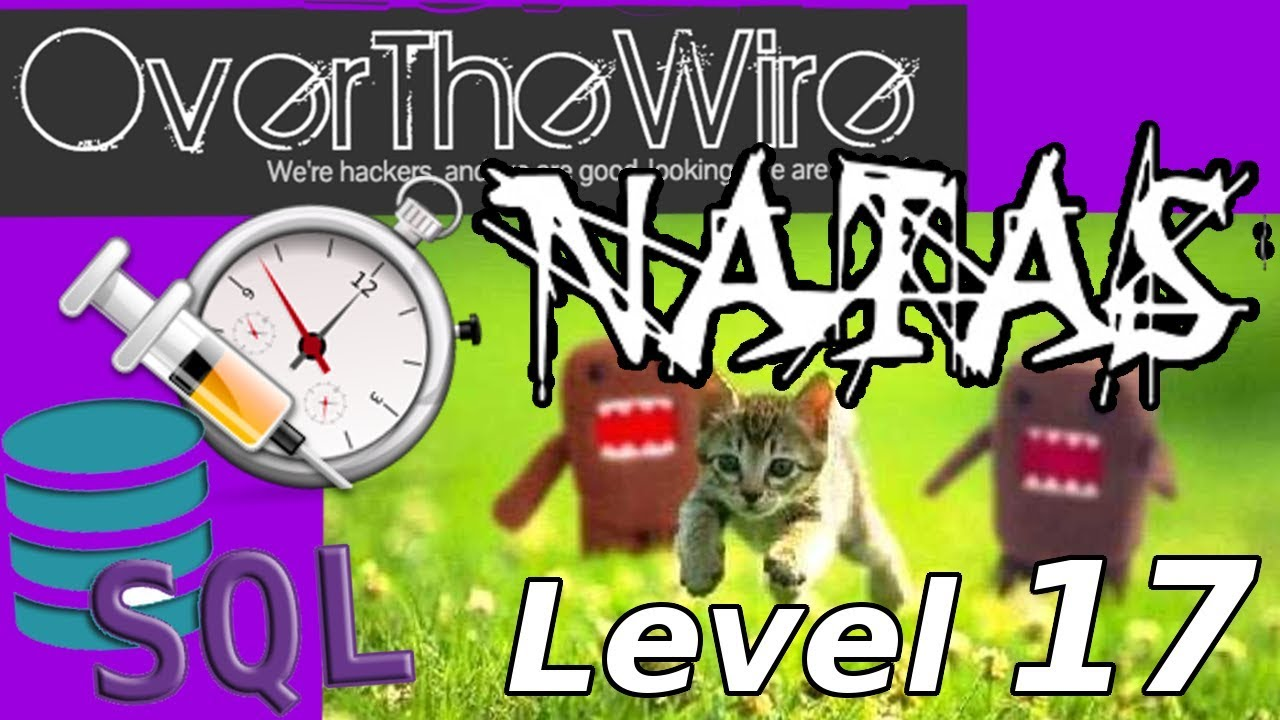 TIMING ATTACK SQL Injection: Python Web Hacking   Natas: OverTheWire (Level  17)