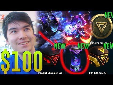 WAIT THIS IS ACTUALLY A GOOD DEAL ! $100 ON THE NEW PROJECT HEXTECH LOOT ! SO WORTH !