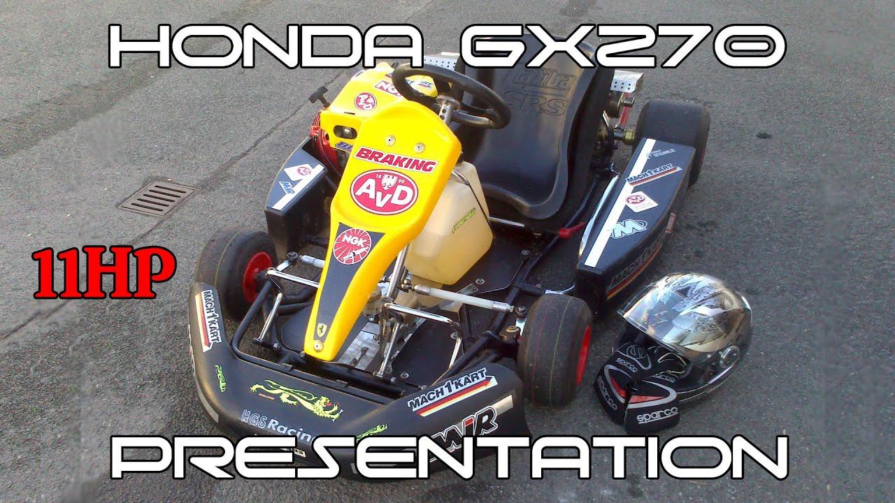 Honda gx270 go kart : Nashville state fair