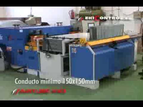Airtube 100 fabricacion de conductos de aire youtube - Conductos de chapa ...