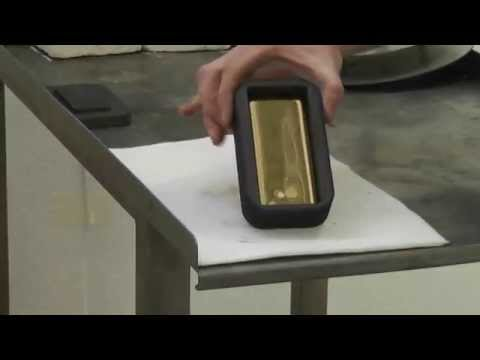 TIP High Quality Gold and Silver Ingot Production