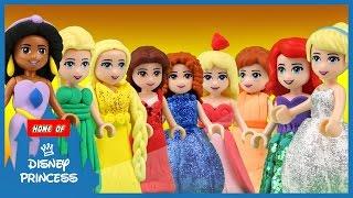 ♥ LEGO Disney Princess TOP 10 Cartoons of 2016/2017