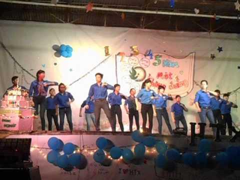 """tiết mục nhảy:""""khúc hát mừng sinh nhật"""" - tình nguyện viên Hành Trình Xanh Nông Nghiệp"""