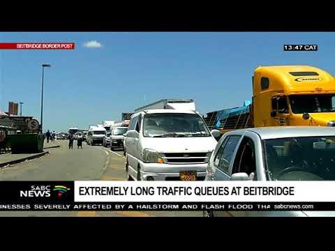 UPDATE: Traffic at the Beitbridge Border Post